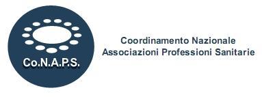 sito CoNAPS Coordinamento Nazionale Associazioni Professioni S